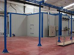 Four - machine à laquer et laquage et thermolaquage et traitement de surface et cabines de laquage et impression numérique bi coloration